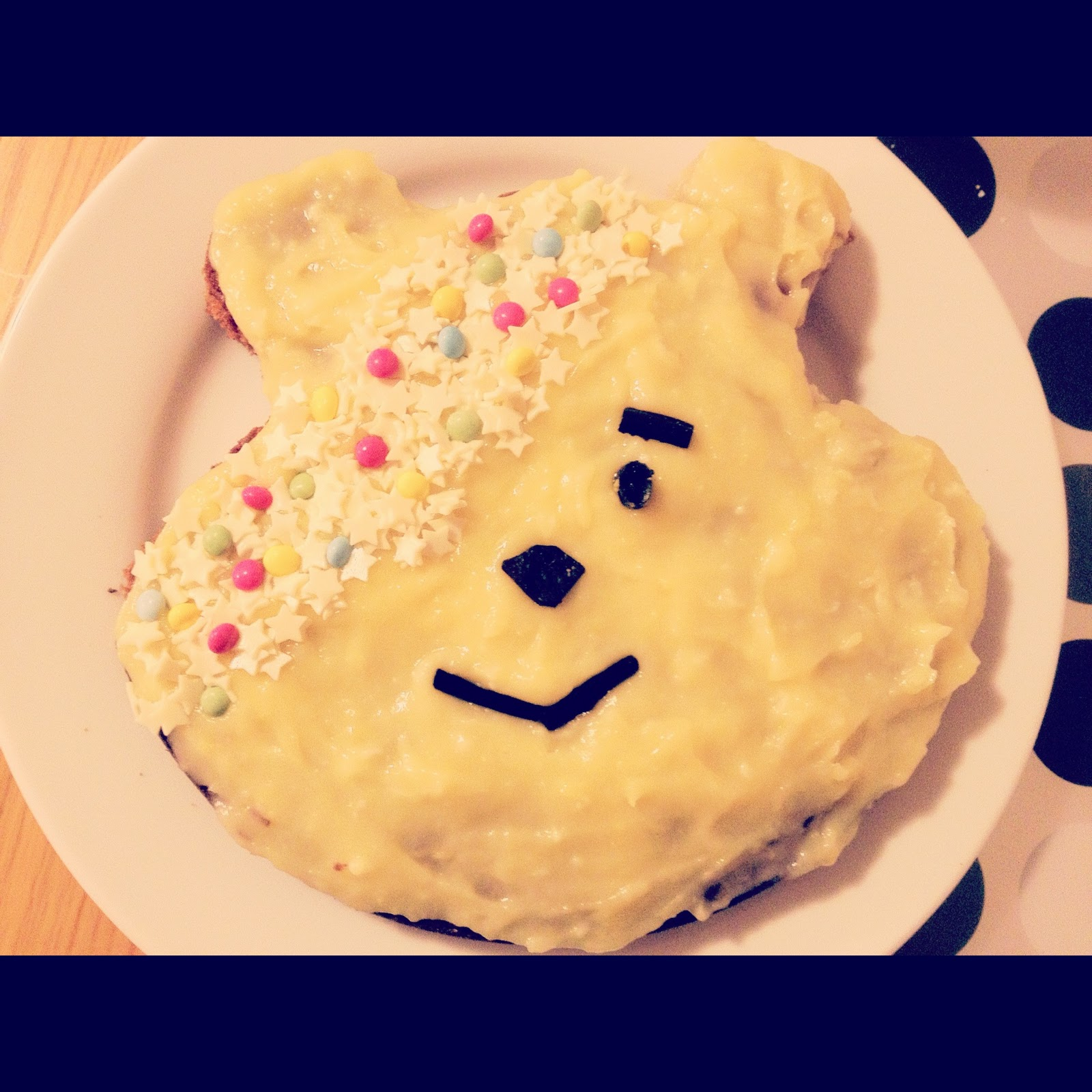 How To Make A Pudsey Bear Cake