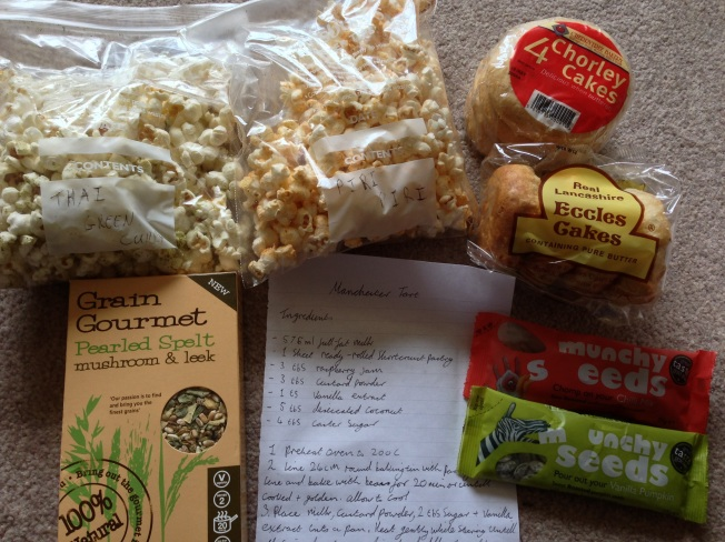 Foodie pen pal parcel
