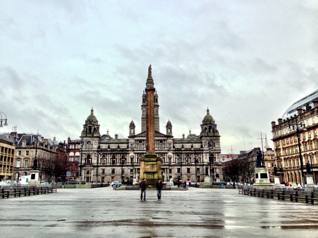 George Square on a dull day #yelpgallery