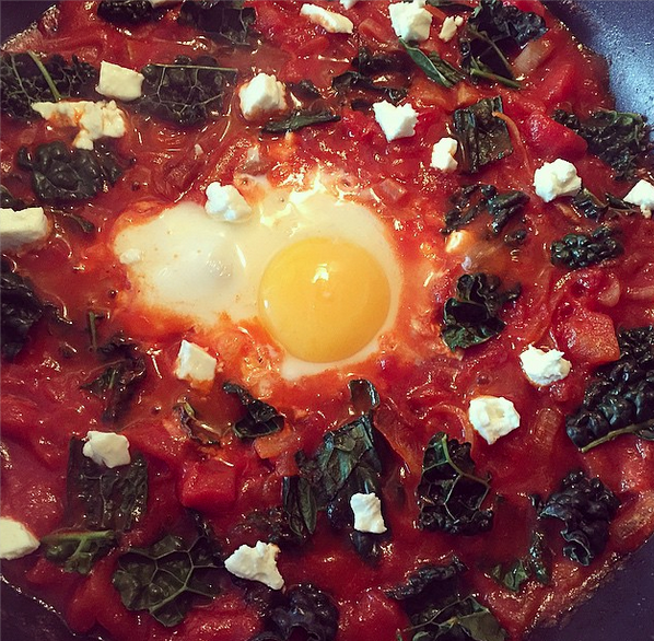 My version –this one has kale rather than spinach